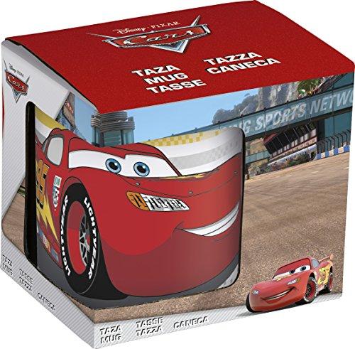 NOVASTYL 8012992 CARS RADIATOR SPRI Coffret Mug Céramique Rouge 11 5 x 8 5 x 10 3 cm