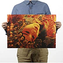 Adiós mi concubina/papel kraft/cartel de bar/cartel retro/pintura decorativa 51x35.5 cm