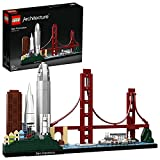 LEGO Architecture SanFrancisco, Set di Costruzionicon Il Ponte GoldenGatee l'Isola di Alcatraz, Collezione Skyline,Idea Regalo Collezionabile, 21043