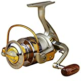 Dosige Angelrolle Rolle Stationärrolle Spinning Reel Vollmetall Aluminium Spinnrolle