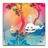 Kanye West & Kid Cudi Kids See Ghosts Poster Dekorative