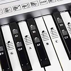 Piano and Keyboard Music Note Piano Stickers - Best Piano Stickers