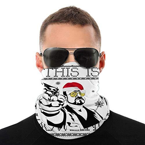 Nother Big Lebowski This is Bowling Navidad Knit Variedad Bufanda de la cabeza Máscara de la Cabeza de la Máscara de la Cabeza de la Polaina del Cuello Bandana Bufanda de la Cara Bufanda