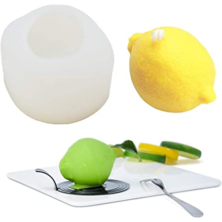 Silicone mould lemon and his sheet for Fimo wepam
