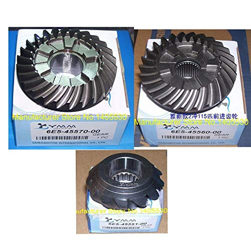 %29 OFF! Ignar Boat Engine Gears Whole Sets for Yamaha Outboard Motor 2 Stroke 115 HP Model No.6E5-45551-45560-45570