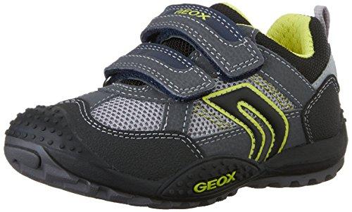 Geox J Marlon 8 Shoe (Toddler/Little Kid/Big Kid),Navy/White,33 EU (2 M US Little Kid)
