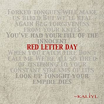 Red Letter Day (Deluxe)