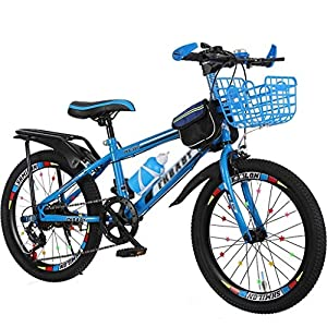 Kids' Bikes Children's Bicycles Male and Female Students Travel Bicycles Variable Speed Adjustment Bicycles 5~15 Years… -