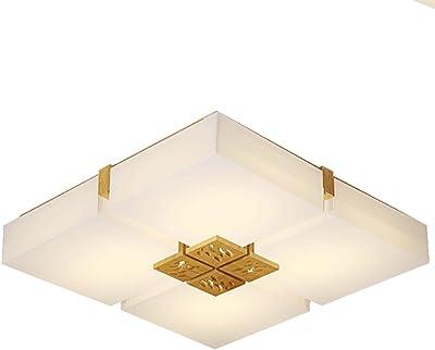 Moderne Decken LED Leuchte 15 Watt Chrom Licht Glas LxBxH