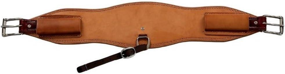 NRS Berlin Custom Leather Cinch Latigo Roper 6 Max 76% OFF Free Shipping New Nat 2