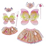 Zapf Creation 829325 BABY born Einhorn Partnerlook Set Kleidungsset für Puppe und Puppenmama, 5-teilig