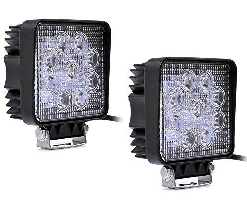 Greenmigo Pleson Lot de 2 spots LED 2500 lm 27 W 9-30 W