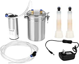 DeWin Milker for Men - 2L Electric Milking Machine, Portable Stainless Steel Milker for Sheep and Cows, US Plug, 110-240V (Size : Cow)