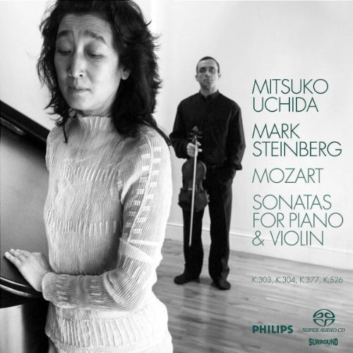 Mozart: Sonatas for Piano & Violin - Uchida/Steinberg
