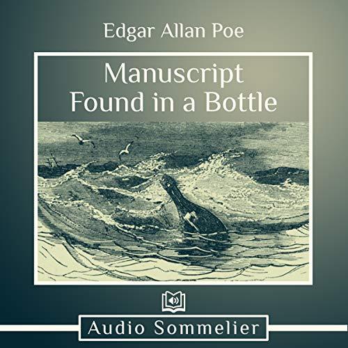 Diseño de la portada del título Manuscript Found in a Bottle