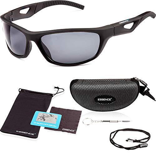 essence' Polarised Sports Sunglasses for Mens & Womens – UV400...