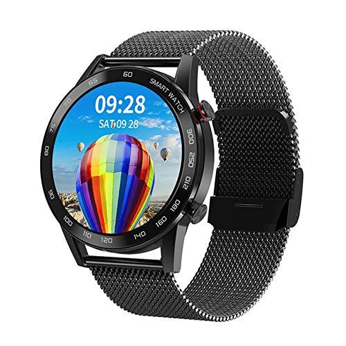 WEINANA High-Definition-Bildschirm Herren Smart Watch IP68 Herzfrequenz-Gesundheitsüberwachung Sportmodus 1.3 Inc Sportuhr Bluetooth-Anruf Smartwatch(Color:B.)