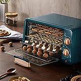 ZHIRCEKE Máquina de deshidratador de Alimentos de 5 bandejas, Termostato de 50-80 ° C, Temporizador 12 Horas, Máquina...