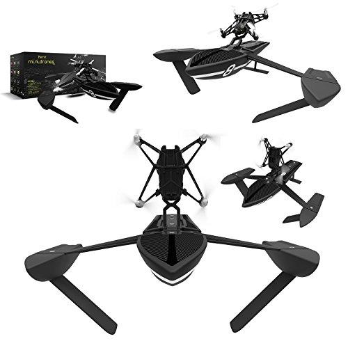 Parrot MIni Drone Orak Nero Minidrone Hydrofoil 2in1