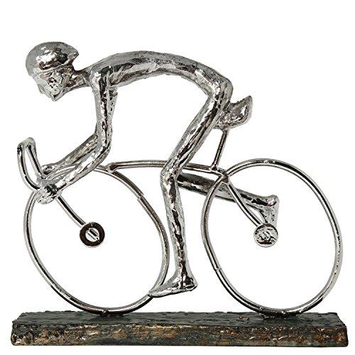 DONREGALOWEB Figura de un Ciclista montado en una Bicicleta de Resina en...
