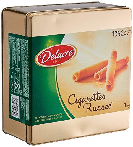 Delacre Cigarettes Russes 1000 g Dose, 1er Pack (1 x 1 kg)