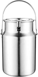 Barril de vino de acero inoxidable olla de té sellado leche espesa mantequilla barril hogar barril sellado depósito portátil puede utilizar for barriles de barriles de leche, arroz, salsa de barril, b
