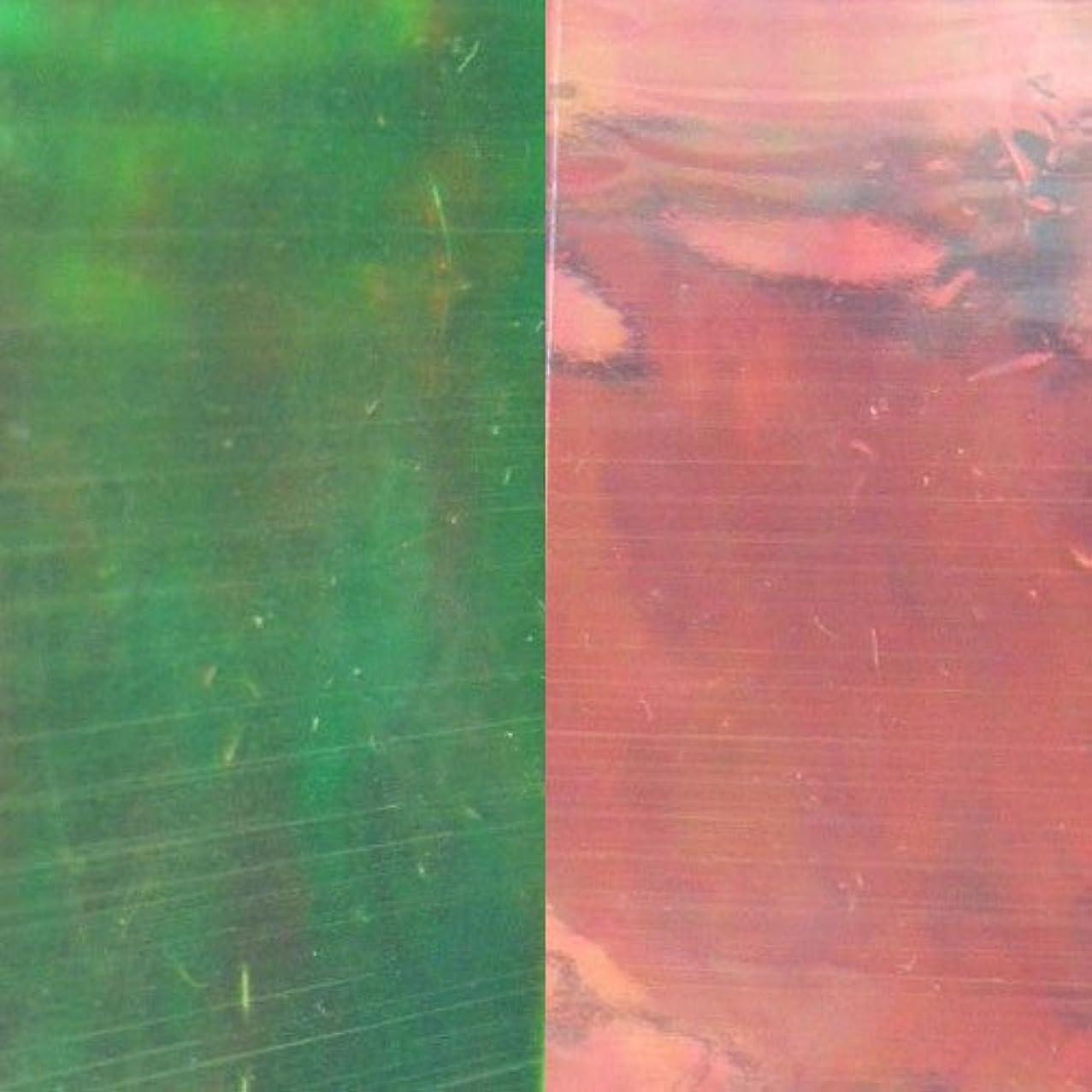 ゲートウェイ宿泊施設ファシズムMysticFlakes ネイルアートフィルム 3号紅光 (約25×40mm×5枚)