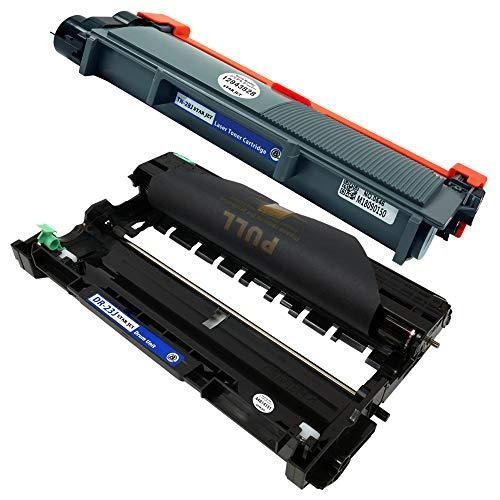 brother ブラザー TN-28J(BK/ブラック) + DR-23J(BK/ブラック)【合計2本セット】 最新 純正互換 トナーカートリッジ + ドラムユニット 《1年間保証》 28 28J 23 23J (対応機種: DCP-L2520D / DCP-L2540DW / FAX-L2700DN / HL-L2320D / HL-L2360DN / HL-L2365DW / MFC-L2720DN / MFC-L2740DW / HL-L2300 )【STAR JET製】