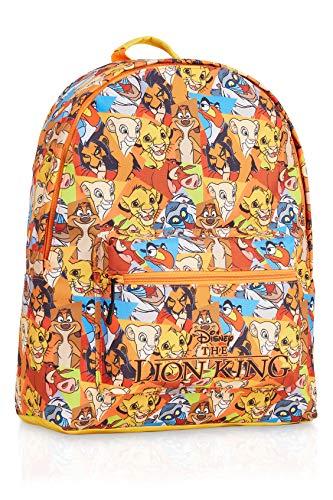 Disney Mochilas Escolares de El Rey Leon, Material Escolar para Niños, Mochila Infantil de Gran Capacidad para Colegio Viajes, Regalos Originales para Niños y Adolescentes