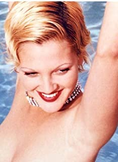 Photographic Archives Color Photo Sexy Nude Film Star Drew Barrymore
