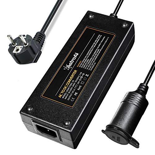 AstroAI 10A 12V AC-DC Netz-Adapter 120W Netzteil Adapter 100V/110V-220V/230V/240V Spannungswandler KFZ-Ladeadapter Stromwandler auf Zigarettenanzünder