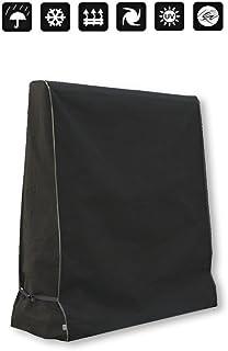 Xiliy Funda Protectora para Mesa de Ping-Pong Oxford Poliéster Cubierta Protectora para mesa de tenis 165 x 70 x 185 cm