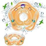 Baby Nuoto Galleggiante, GUBOOM Anello Gonfiabile Infantile del Galleggiante del Bambino, Anello di Nuoto Piscina Regolabile Doppio Airbag Anello Salvagente Piscina Galleggiante