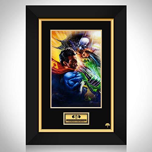RARE-T Batman Vs Superman - Hand-Signed Artwork