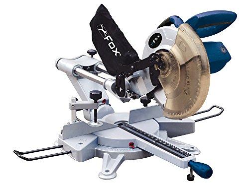 Fox F36-255 - Ingletadora telescópica con dispositivo láser. Ø Disco: 254mm