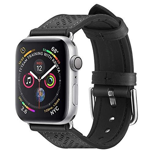 Spigen Retro Fit Compatible con Apple Watch Band para 44mm / 42mm Series 5/4/3/2/1 - Negro