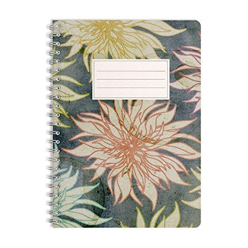WIREBOOKS Notizbuch | Notizblock | Notizheft | Spiralblock 5058 DIN A5 120 Seiten 100g Papier blanko