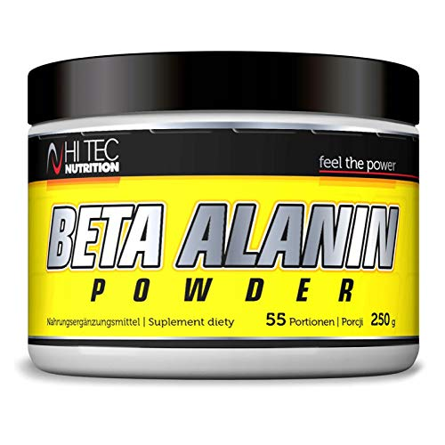 Hi Tec Beta Alanin 250g | Amino Acid | Pre-Workout Booster | Strenght & Endurance | Food Supplement