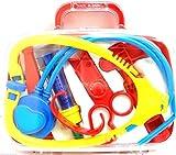 Papillon Regalo niños Juego de Instrumentos médicos Medic Set médico Set Kit de Enfermera Disfraz Infantil de Juguete Jugar Funda de Transporte