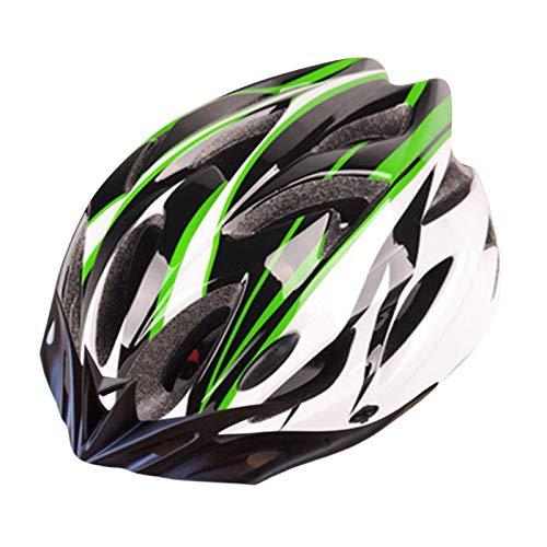 Glowjoy - Casco da bicicletta unisex per adulti, per mountain bike, sport, con protezione regolabile, per motociclismo, quad e crossbike, protezione per skateboard, attività all'aperto