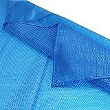 Cobertor Cubierta Fundas para Piscinas, Rectángulo Cubierta
