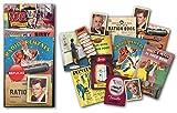 Sweet and Nostalgic Paquete de regalo para el hogar de los años 50 con más de 20 piezas de ilustraciones de réplica