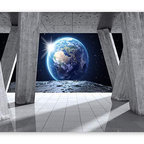 murando Papier peint intissé 400x280 cm Décoration Murale XXL Poster Tableaux Muraux Tapisserie Photo Trompe l'oeil cosmos globe planète ciel n-C-0008-a-d