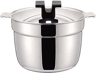 ライスポット 炊飯鍋 S-タイプ 【全面ステンレス・アルミ芯3層鋼】 5合 RP-5S