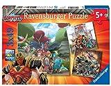 Ravensburger-05016 1 Gormiti, Multicolor, 3 x 49 piezas (05016)