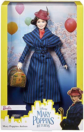 Barbie Signature Disney Il Ritorno di Mary Poppins Bambola da Collezione Emily Blunt, per Bambini 6 + Anni, FRN81