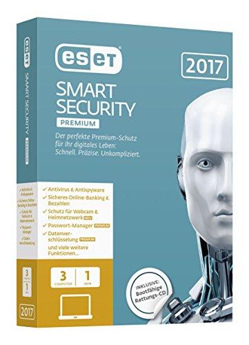 Preisvergleich Produktbild ESET Smart Security Premium 2017 Edition 3 User