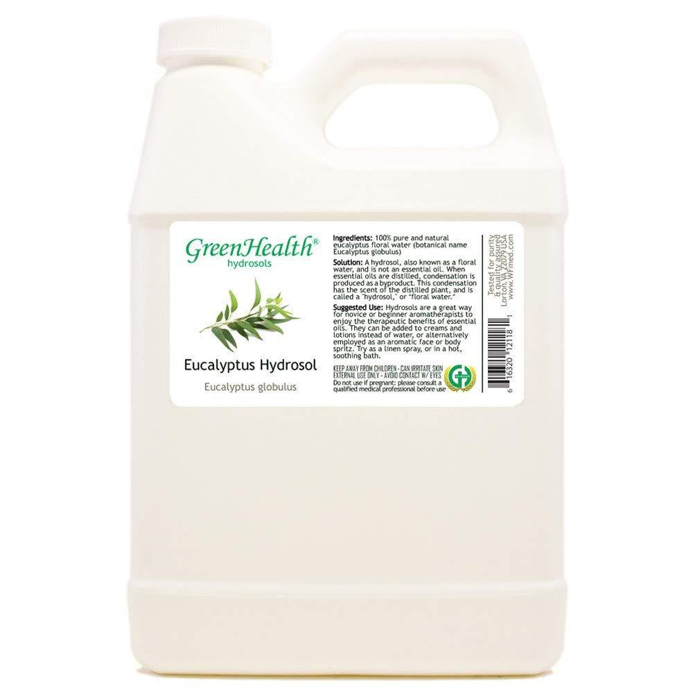 Eucalyptus Hydrosol Floral Selling rankings Water - Super sale period limited 32 fl Cap w Jug Plastic oz