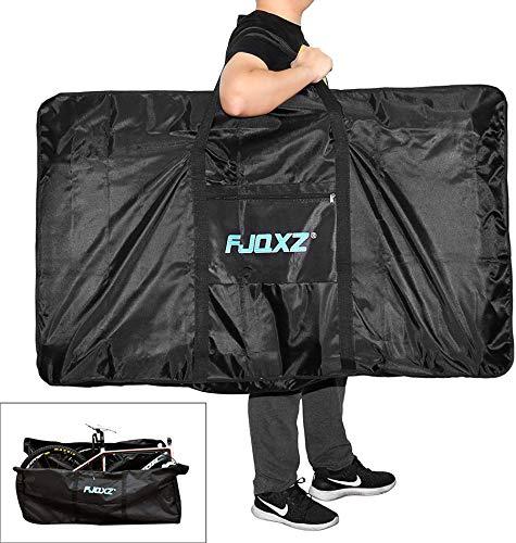 Selighting Fahrrad Transporttasche Wasserdicht Fahradtasche Tragertasche Schutzhülle für 26 inch Fahrrad (Schwarz)