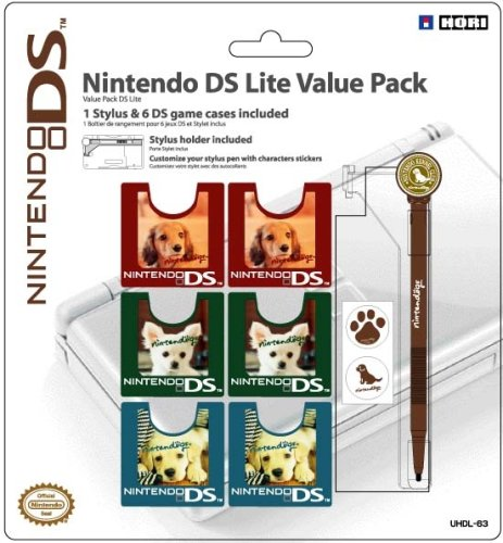 Officially Licensed DS Lite Nintendogs Value Pack (NintendoDS) [Edizione: Regno Unito]